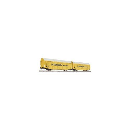 Liliput L230160 H0 2er Güterwagen Dunlopillo der DB Dunlopillo