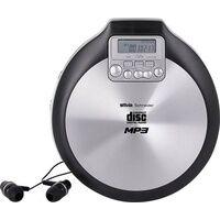 Silva Schneider MCD 50 Tragbarer CD-Player CD, CD-R, CD-RW, MP3 Schwarz