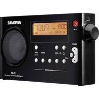 Sangean PR-D7 Kofferradio UKW, MW Schwarz