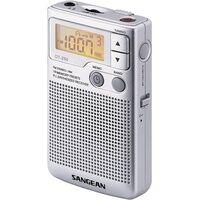 Sangean Pocket 250 Taschenradio UKW, MW Silber