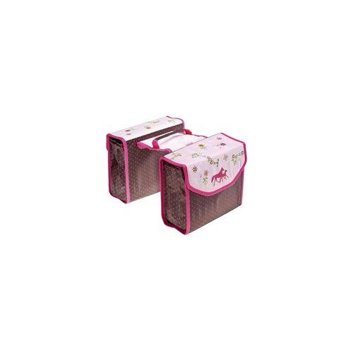 pink Gepäckträgertasche