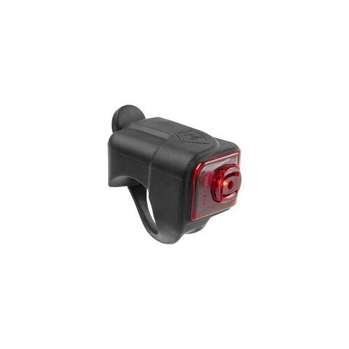M-Wave Fahrrad-Rücklicht HELIOS K1.1 USB LED akkubetrieben Schwarz