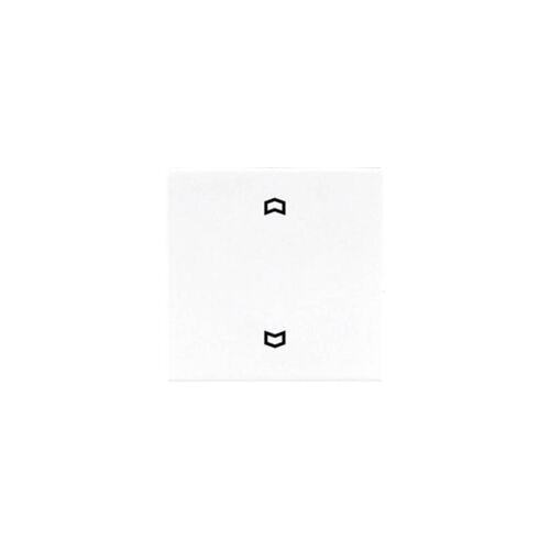 Jung 1fach Abdeckung Jalousie-Schalter, Jalousie-Schalter/-Taster Weiß LS990PWW