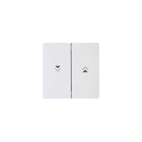 Kopp Abdeckung Jalousie-Schalter, Jalousie-Taster HK05 Arktis-Weiß 334488000