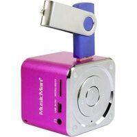 Technaxx Mini Lautsprecher MusicMan Mini AUX, SD, USB Pink