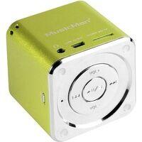Technaxx Mini Lautsprecher MusicMan Mini AUX, SD, USB Grün