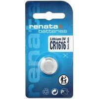 Renata CR1616 Knopfzelle CR 1616 Lithium 50 mAh 3V 1St.