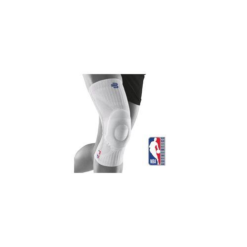 Bauerfeind NBA Sports Kniebandage weiß S