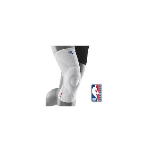 BAUERFEIND NBA Sports Kniebandage weiß XXL