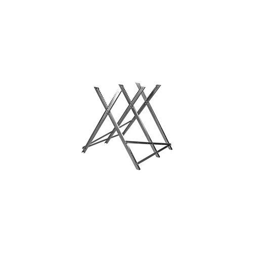 DEMA Metallsägebock Sägebock Holzsägebock klappbar zum Sägen von Brennholz