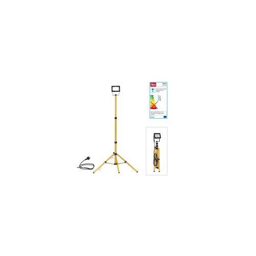 DEMA LED-Strahler Slim 20W mit Stativ Strahler Baustrahler