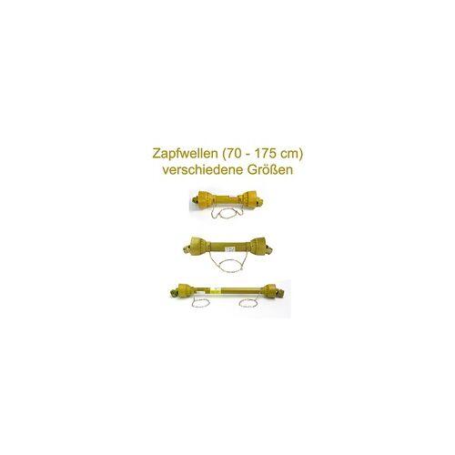 DEMA Gelenkwellen / Zapfwellen versch. Längen (70 - 175 cm), Zapfwelle: 120 - 175 cm / max. 16 PS