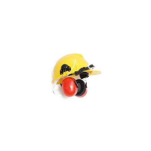 DEMA Schutzhelm / Bauhelm mit Gehörschutz