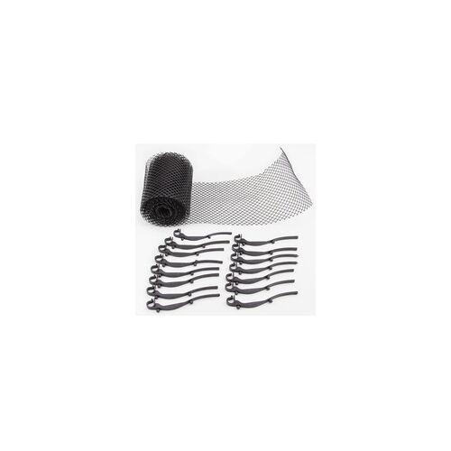 DEMA Dachrinnen-Schutz 6m x 160mm Schutz für Dachrinne