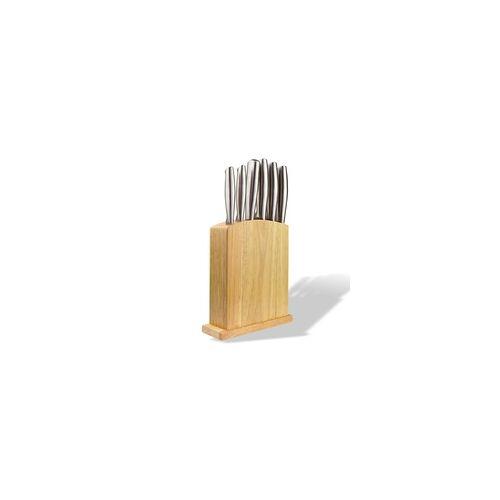 DEMA Küchenmesser Messerblock Messerset 7 teilig Set