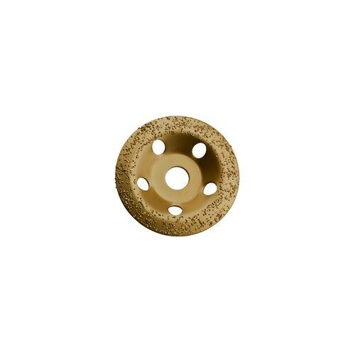 DEMA HM universal Topfscheibe 115 mm Schleiftopf Schleifteller für Gips Gummi Holz