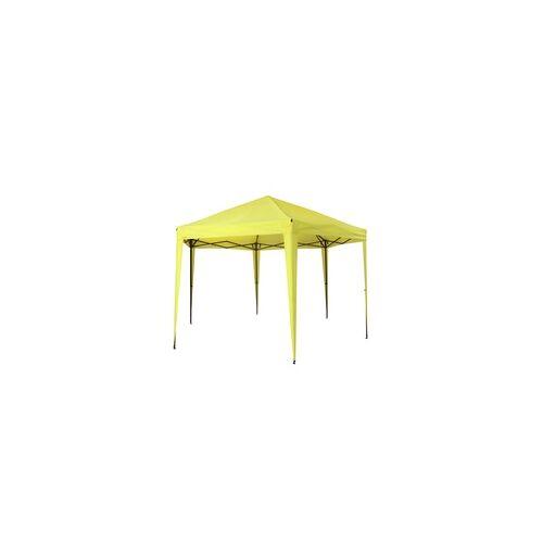 Tepro Pavillon Faltpavillon Gartenpavillon Aruba lemon Partyzelt Sonnenschutz