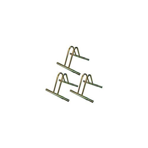 DEMA 3 Stück Fahrradständer / Fahrradhalter für Räder Fahrrad im Set