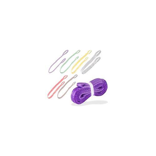 DEMA Hebeband / Hebegurt mit Schlaufe 1 bis 5 t in Längen 1 bis 6 m, Hebeband: 5 t - 4 Meter