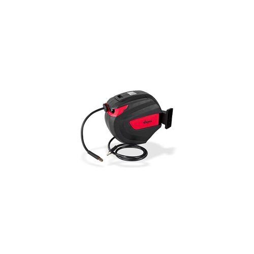 DEMA Druckluft Schlauchtrommel / Schlauchaufroller 25 m Automatik selbstaufrollend