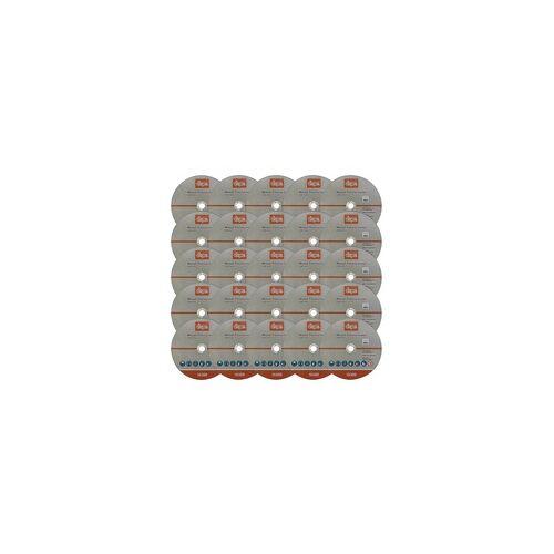 DEMA Metall Trennscheibe 25-er Set 230mm Flexscheibe Winkelschleifer Trennschleifer