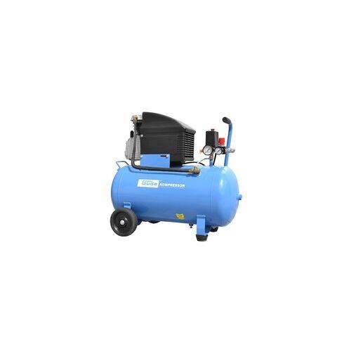 Güde Kolbenkompressor 50l 10 bar Druckluft Kompressor 301/10/50 12-tlg.