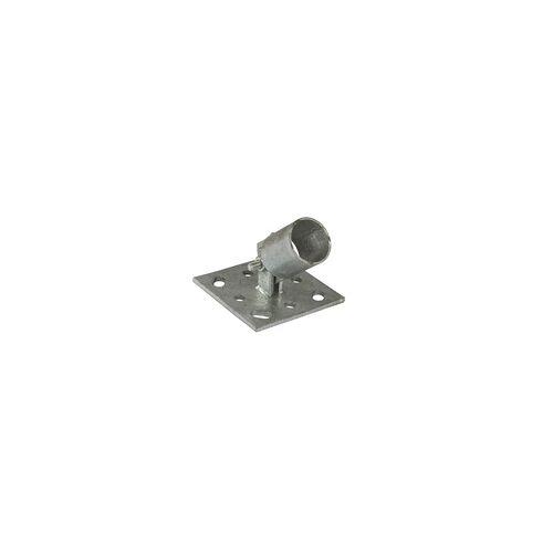 DEMA Pfostenträger Einschlaghülse Strebenplatte f. Zaunpfosten Ø 34 mm