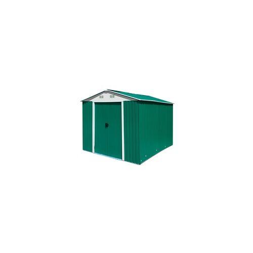 DEMA Gerätehaus / Gartenhaus metall - verschiedene Größen, Gartenhaus Größe: 4.8 qm / 917500