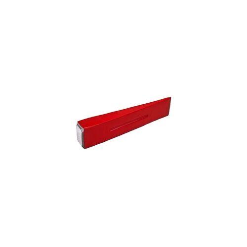DEMA Spaltkeil 2 kg Holzspaltkeil Holzspalter Keil Fällkeil Stahlkeil 22 cm massiv
