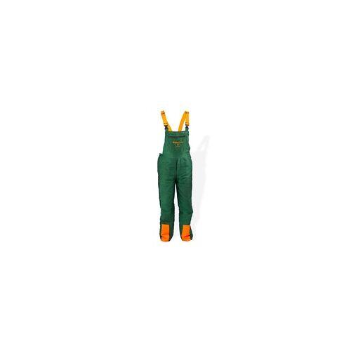 DEMA Forst Schnittschutz-Latzhose ECO grün/orange S-XXXL EN 381-5, Latzhose ECO: Hose ECO Gr. XXL (912081 - 30240)