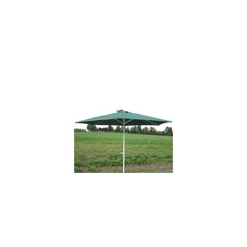 DEMA Marktschirm Sonnenschirm 300 cm grün Kurbel Gartenschirm Schirm Sonnenschutz