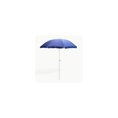DEMA Strandschirm blau 180 cm UV30 Sonnenschirm Gartenschirm Schirm