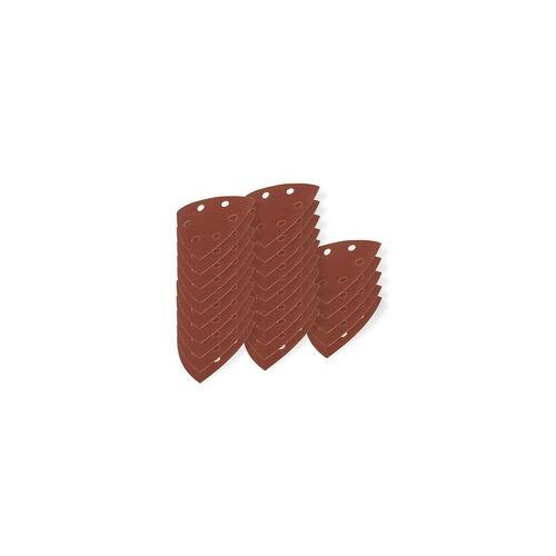 DEMA Schleifscheiben für Deltaschleifer K180 25tlg. Schleifband Schleifblatt