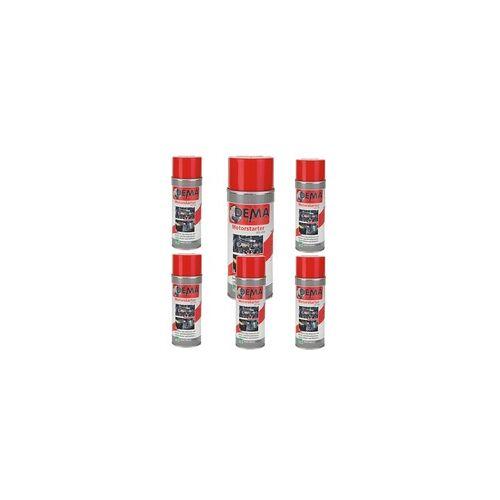 DEMA Auto Kontaktspray / Starthilfespray PRO 400 ml 6-er SET Starthilfe