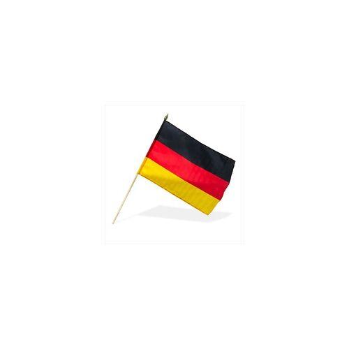 DEMA 10 Stk. Deutschlandfahne / Deutschlandflagge 30x45 cm