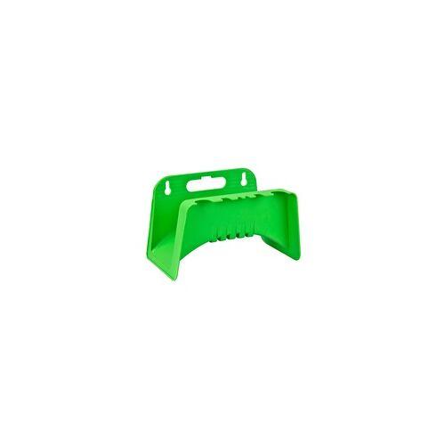 DEMA Kunststoff Wandschlauchhalter Wand Schlauchhalter Gartenschlauchhalter grün