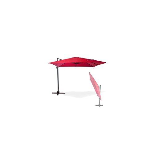 DEMA Sonnenschirm Ampelschirm Gartenschirm Marktschirm Kurbelschirm Schirm Verona 3x3m