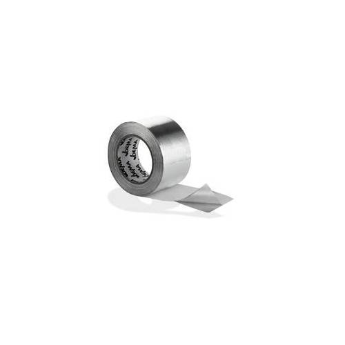 DEMA Alu Klebeband Aluminiumband Aluminium Rolle Aluband 75 mm x 50 m Band Isolierung