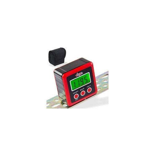 DEMA Digitale Wasserwaage, Präzise mit Winkelmesser, LCD Display