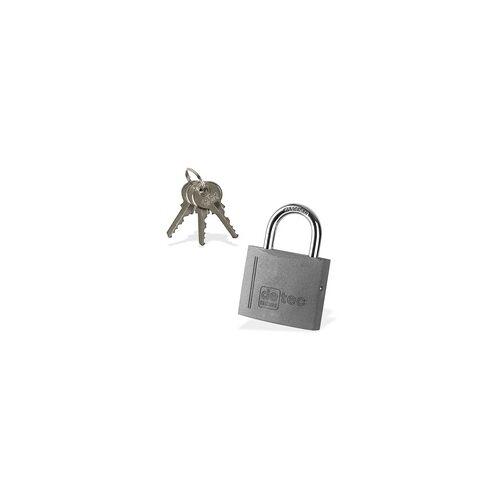 DEMA Vorhängeschloss / Bügelschloss / Sicherheitsschloss VS60 mit 3 Schlüssel