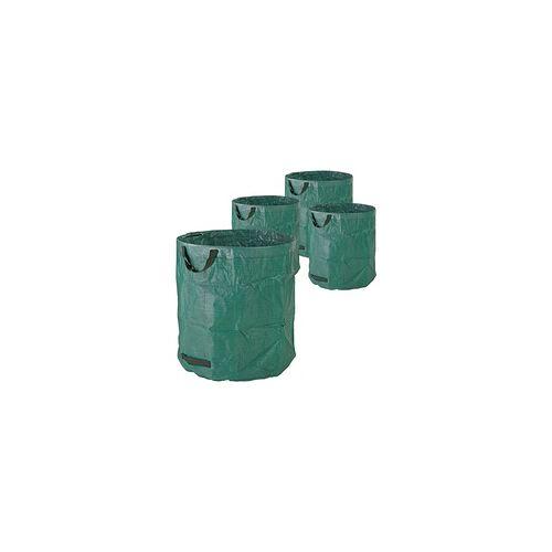 DEMA Gartenabfallsack Laubsack Gartensack 272 Liter 4er Set Garten Abfallsack 150gr/qm