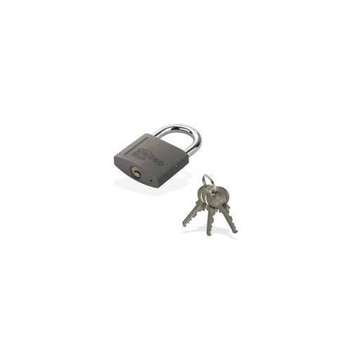 DEMA Vorhängeschloss / Bügelschloss / Sicherheitsschloss VS25 mit 3 Schlüssel