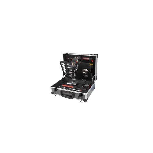 DEMA Alu-Werkzeugkoffer mit 90 tlg. Werkzeug Set