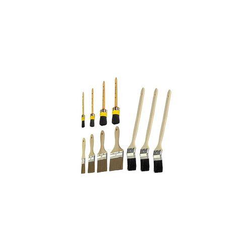 DEMA Malerpinsel Flachpinsel / Rundpinsel / Heizkörperpinsel - Auswahl, Auswahl: Heizkörperpinsel 50mm 3er Set