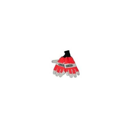 Oregon Forst Handschuhe Schnittschutz Kettensäge rot S-XL EN 381, Handschuhgröße: Handschuhe XL (11)