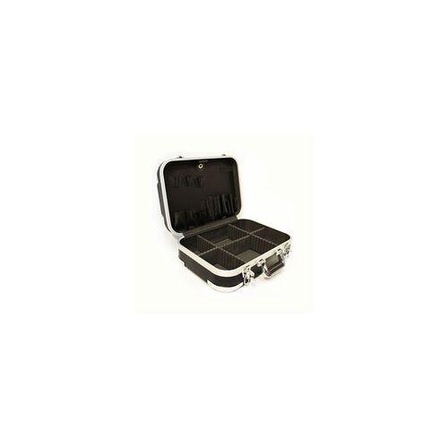 DEMA Hartschalenkoffer Werkzeugkoffer ABS schwarz Elektrikerkoffer leer Servicekoffer