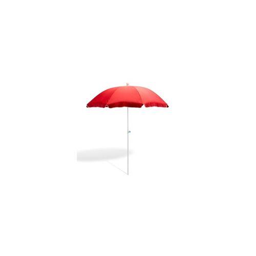 DEMA Strandschirm terracotta 180 cm UV30 Sonnenschirm Gartenschirm Schirm