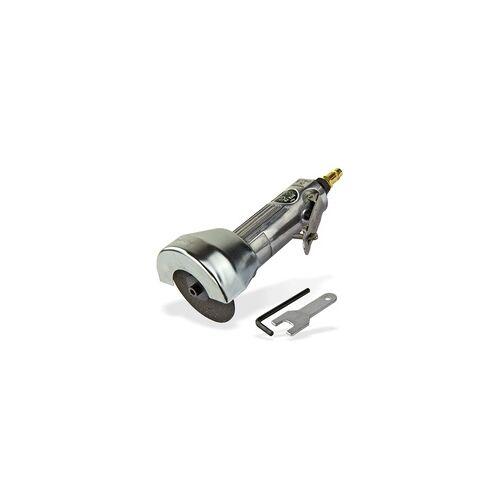 DEMA Druckluft Trennschleifer / Winkelschleifer Ø 75mm Set, Trennscheiben