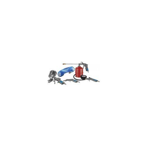 Güde Druckluft Set 5-Tlg. Kompressor Ausblaspistole