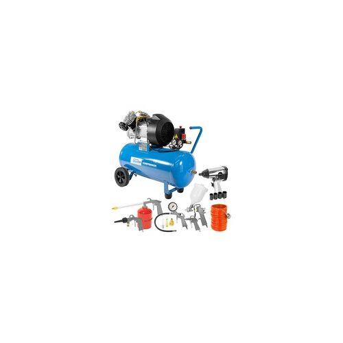 Güde Kompressor Kolbenkompressor Druckluftkompressor Set 400/10/50 DG 15-tlg.